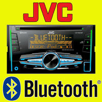 JVC CAR/VAN CD/MP3, FRONT AUX USB IPOD/IPHONE, DOUBLE DIN STEREO BLUETOOTH NEW