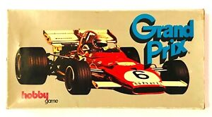 VINTAGE HOBBY GAME GRAND-PRIX BOARD GAME JOY-TOY RACING CARS GREEK USED RARE