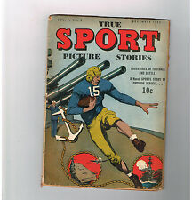 TRUE SPORT PICTURE STORIES (v2) #3 Affordable Gold Age (1943) find from S & S!