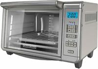 Countertop Toaster Oven 6 Slice Digital Convection Toaster Oven Stainless Steel