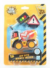 My 1st JCB On Site MARTY MIXER bulldozer toy construction vehicle digger - NEW!