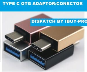 USB 3.1 Type C to USB A Female OTG On The Go USB Host Adapter Cable Conector