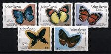 (W0102) LAOS, U/M (MNH), BUTTERFLIES 1993
