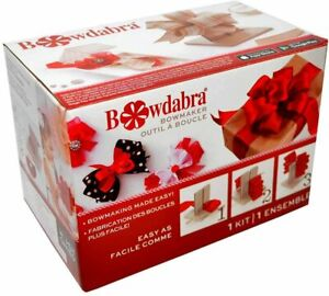 Bowdabra Bowmaker Tool - DVD Boxed - DIY Bows Gifts Christmas Wrapping