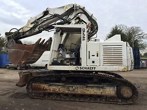 SCHAEFF TEREX TE210 Tunnelling Machine Mining Excavator Digger