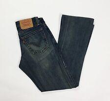 Levis 545 W26 tg 40 jeans bootcut zampa donna usato levi vintage boyfriend T1293