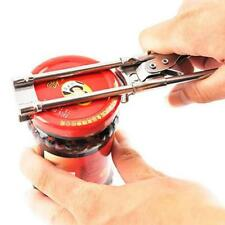 Adjustable Manual Stainless Steel Jar Lid Opener Gripper Can Opening Tool NEW L