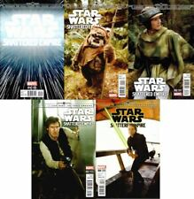 Star Wars Force Awakens #1a #1b #2 #3 #4 Movie Photo Cover Variant Complete Set