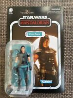 "Hasbro Vintage Collection Mandalorian Cara Dune 3.75"" Figure Gina Carano In hand"