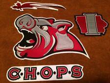 Iowa CHOPS Hog Head Hockey Stitched Crest Patch 10.5 by 6.5 inch Pigs Pig Head