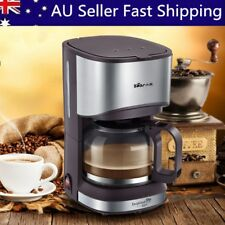 2017 700ml Drip Coffee Maker Machine 220V Black Homade Coffee Tea Machine AU