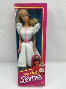 My First Barbie Doll Vintage #1875 Never Removed from Box 1984 (B2)
