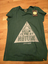 Brand New Misses Green Life is Good  Shirt, Size S