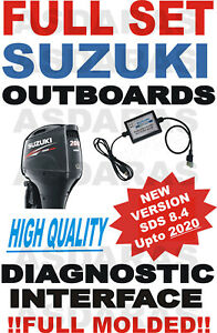 NEW SUZUKI MARINE outboard professional jet board wave runner diagnostic SDS 8.4