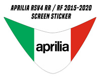 Windscreen Sticker Decal for Aprilia RSV4 (Sticks on outside of screen) 15-2020