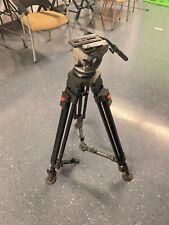 Cartoni Focus Fluid Head Camera Tripod Complete System