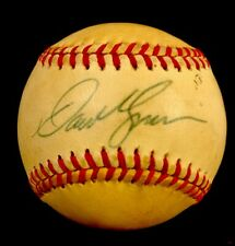 DAVE KINGMAN SIGNED BALL NL BASEBALL CHICAGO CUBS  Chub Feeney