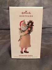 2019 Hallmark Ornament Toymaker Santa 20Th In The Toymaker Santa Series
