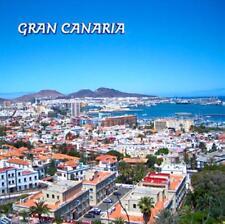 Gran Canaria Foto Magnet Epoxid Kanarische Inseln Souvenir,8x8 cm