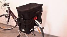 Fahrrad Gepäckträger Tasche Taschen HABERLAND 3-Fach links/rechts und Koffer