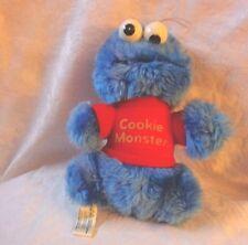 "Hasbro Softies Sesame Street Cookie Monster 9"" Plush Soft Toy Stuffed Animal"