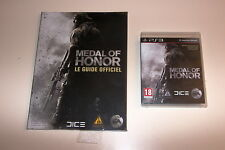 JEU PS3 MEDAL OF HONOR COMPLET + GUIDE OFFICIEL NEUF DICE EA
