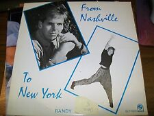 Randy Coleman-From Nashville To New York-LP-Statler-SLP 1529-Vinyl Record