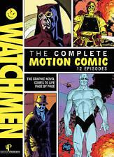 WATCHMEN The Complete Motion Comic 12 Episodes TV Graphic Comics 2 DVD SET NEW