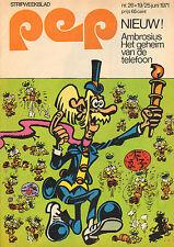 PEP 1971  nr. 26 - ELTON JOHN / EEF MULDERS (PSV) / AMBROSIUS (COVER)