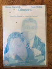 Steve Carell Paul Rudd Dinner For Schmucks ~2010 Le Diner Du Cons DVD