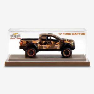 Hot Wheels HWC '17 Ford Raptor F150 Desert Special Edition /25,000 Brand New