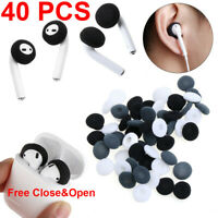 Soft Foam Earphone Tips Cover Sponge Earpad Replacement For Airpods Earpods-