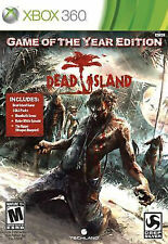 Dead Island: Game of the Year Edition -Xbox 360 Square Enix Video Game