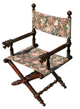 Victorian Arm Chair with caved dogs heads