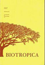 Biotropica Volume 33 No. 3 Sep 2001 Association for Tropical Biology Journal