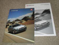 Citroen Saxo Brochure Set 2002 - Forte Desire Furio VTR VTS 1.1 1.4 1.6 16v 1.5D