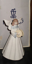 "Lladro Retired  ""Angelic Cymbalist"" #5876  Angel  Mint"