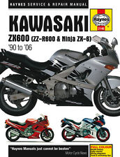 2146 Haynes Kawasaki ZX600 (ZZ-R600 & Ninja ZX6) (1990 - 2006) Workshop Manual