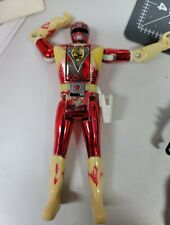 MIGHTY MORPHIN POWER RANGERS MOVIE METALLIC RED RANGER WITH POWER COIN 1995