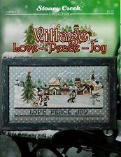 Village Love - Peace - Joy by Stoney Creek LFT471 cross stitch pattern