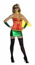 Batman Justice League Women's Sexy Robin Corset Halloween Costume 0-2 XS #5687