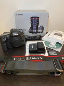 Canon EOS 5D Mark IV 30.4MP Digitalkamera - Schwarz