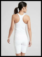 Athleta NWT Women's Contender Support Top Size Med Color White
