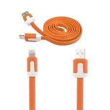 Flat Charging Noodle USB Data Cable Wire for iPhone 6 Plus 5 5c 5s iPod iPad Air