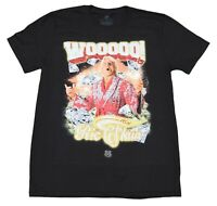 Vintage WWE Ric Flair Woooo! Diamonds Bling 16x Classic Cotton T-Shirt Top New