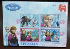 NEW AND SEALED DISNEY FROZEN 4-in-1 JUMBO JIGSAW PUZZLE 255 PIECES
