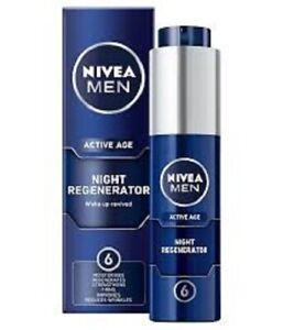 NIVEA MEN ACTIVE AGE Night Regenerator 50ml - great gift