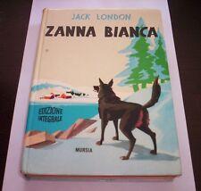 TUSK BIANCA Jack London 1978 MURSIA book novel