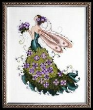 "CMPLTE XSTITCH MATERIALS ""LILAC"" NC112"" Pixie Couture Colection by Nora Corbett"
