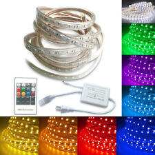 Boshen LED Flexible Tape Rope Strip Light RGB SMD 5050 Waterproof 110V 5M-30M